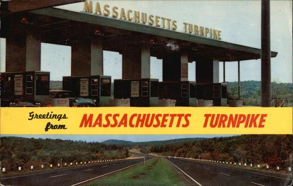 Greetings from Massachusetts Turnpike