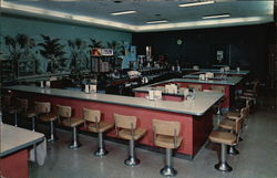 The Cow Bell Lunch Counter Postcard