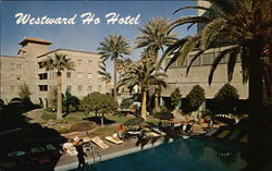 Westward Ho Hotel - Swimming Pool & Patio