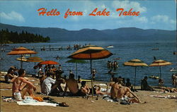 Hello from Lake Tahoe