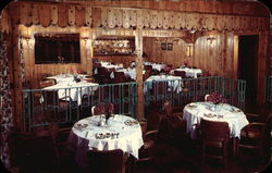 Upper Section of the Beautiful Terrace Dining Room at Pocono Gardens Lodge