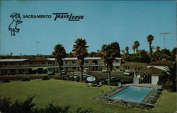 View of TraveLodge & Pool