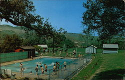 Swimming Pool at Green Oak Ranch Boys Camp