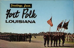 Greetings from Fort Polk, Louisiana