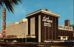 The Golden Gate Casino and Sal Sagev Hotel on Fremont and Main Streets