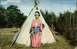 Earnestine Doyel of the Kiowa Indian Tribe Postcard