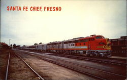 Santa Fe Chief at Fresno