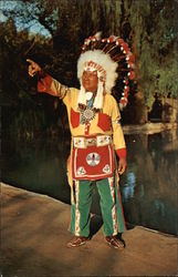 Chief White Eagle at Knott's Berry Farm & Ghost Town
