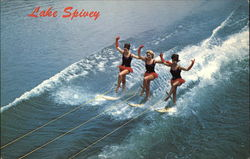 Water Skiers on Lake Spivey