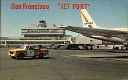 San Francisco International Airport Jet Port