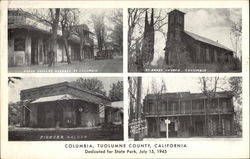 Columbia, Tuolumne County, California