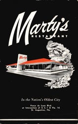 Marty's Restaurant in the Nationa's Oldest City