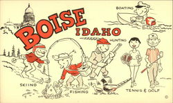 Boise, Idaho - Boating, Hunting, Skiing, Fishing, Tennis & Golf