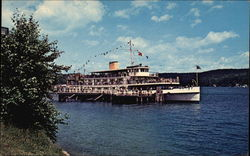 MV Mt. Washington at Alton bay