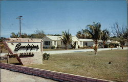 The Sandpiper Motel on U.S. 1 Postcard
