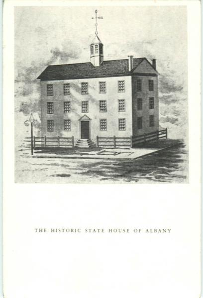 The Historic State House Of Albany New York