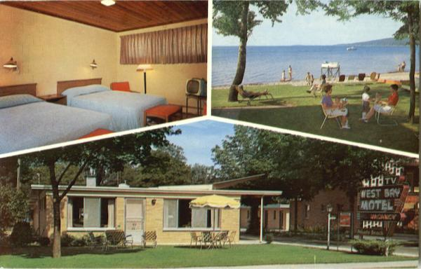 West Bay Motel, 837 E. Front St Traverse City Michigan