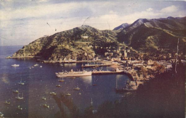 Ships In Crescent Bay Catalina California