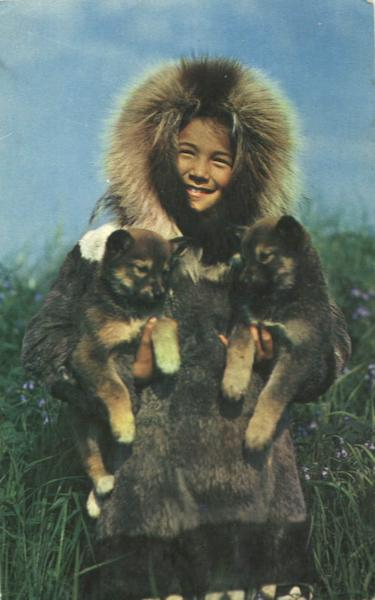 Alaskan Eskimo And Friends Native Americana