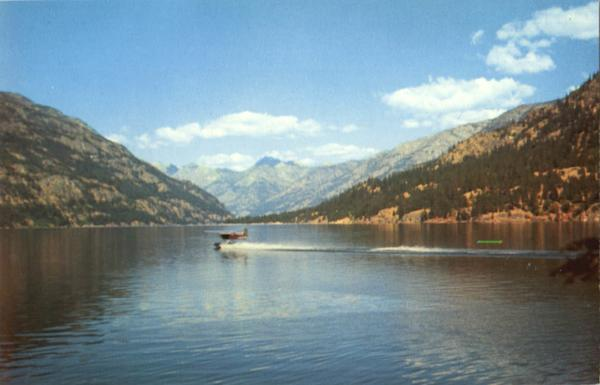 Lake Chelan From Lucerne Washington