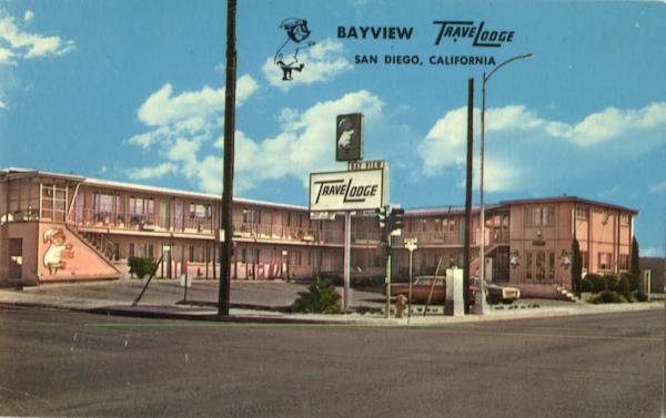 Bay View Travelodge, 1943 Pacific Hwy San Diego California