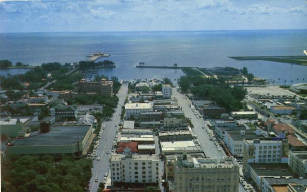Air View Of St. Petersburg Florida