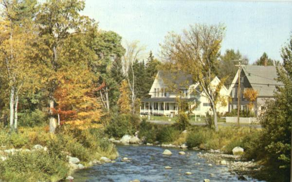 Gale River, Main Street Franconia New Hampshire