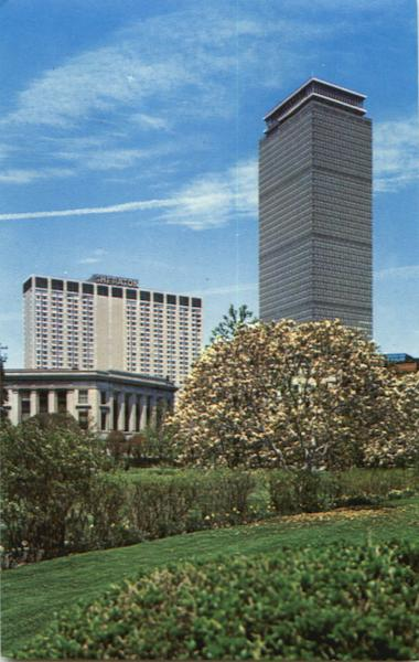 Prudential Tower And Sheraton-Boston Hotel Massachusetts