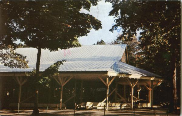 Amphitheater At Chautauqua Institution New York