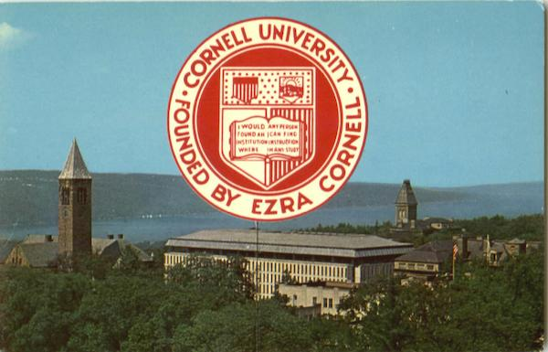 Far Above Cayuga's Waters, Cornell University Ithaca New York