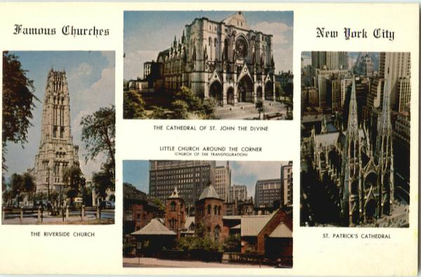 Famous Churches Of New York City
