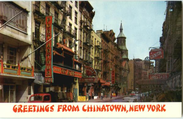 Greetings From Chinatown New York City