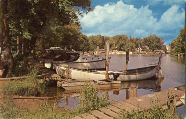 Cottman's Boat Yard Sylvan Beach New York