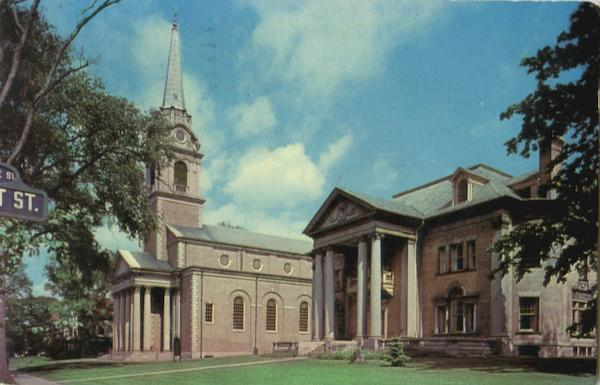 First Presbyterian Church And Church House, 1605 Genesee Street Syracuse New York