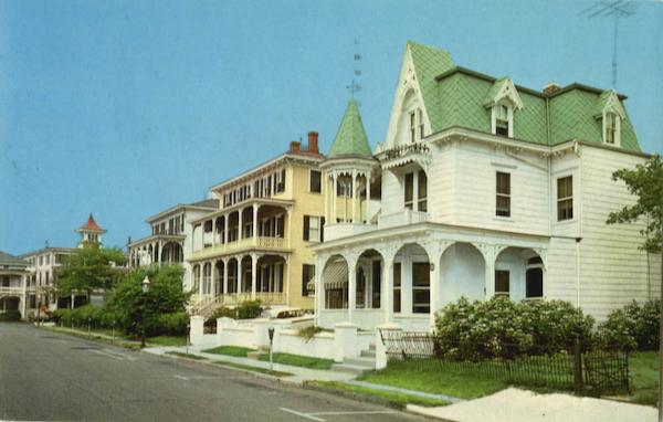 A Victorian Setting (Congress Place) Cape May New Jersey