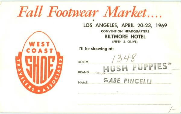 Fall Footwear Market Los Angeles California Advertising
