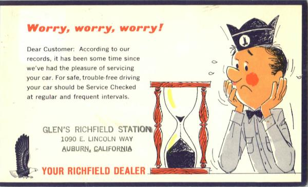 Worry, Worry, Worry! Advertising