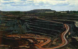 Taconite Mine On The Mesaba Iron Range