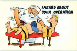 I Heard About Your Operation Postcard