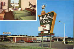 Holiday Inn, Interstate 95 & US Hwy. 70-A Postcard