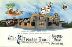 The Ivanhoe Inn And Ye Olde Faiar Restaurant, 1590 Buffalo Avenue Postcard