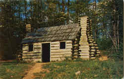 Reconstructed Continental Army Officers Hut, Morristown National Historical Park
