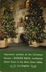 Barker Bros Gaint Christmas Trees