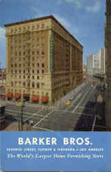 Barker Bros Home Furnishing Store
