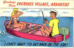 Greetings From Cherokee Village