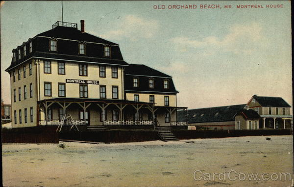 Montreal House Old Orchard Beach Maine