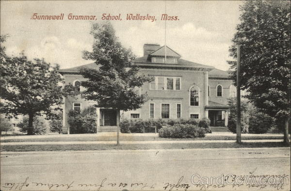 Hunnewell Grammar School Wellesley Massachusetts