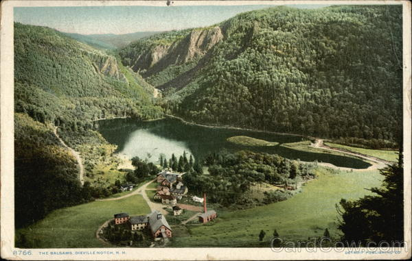 Aerial View of The Balsams Dixville New Hampshire
