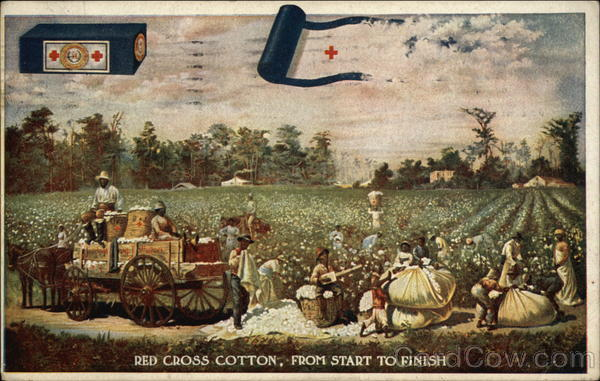 Red Cross Cotton, From Start to Finish Advertising