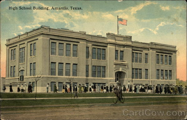 High School Building Amarillo Texas